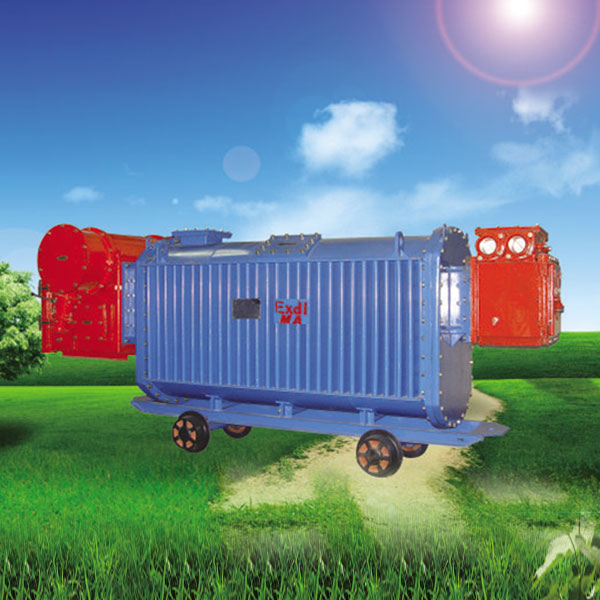 Mine flameproof mobile substation