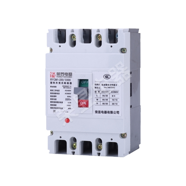 RYCM1 Series plastic case circuit breaker
